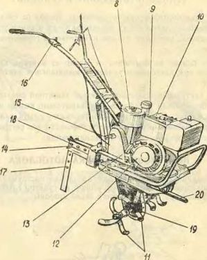 инструкция по эксплуатации мотоблока мб 1д - фото 9